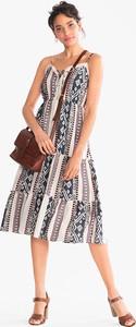 Sukienka YESSICA w stylu etno z bawełny