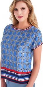 Niebieska bluzka POTIS & VERSO