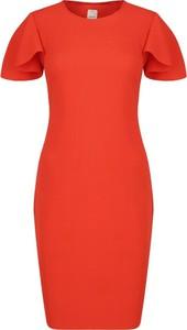 Sukienka Pinko z krótkim rękawem