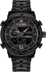 ZEGAREK MĘSKI NAVIFORCE - NF9119 (zn066c) - black/grey - Czarny