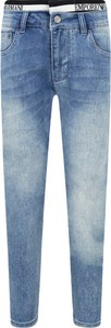 Niebieskie jeansy dziecięce Emporio Armani