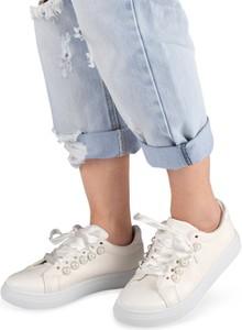 8463317ffd888 n vision buty. Buty sportowe N/M w sportowym stylu ze skóry ekologicznej