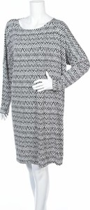 Sukienka Ilse Jacobsen z okrągłym dekoltem prosta mini