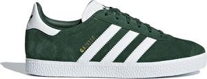 Zielone trampki dziecięce Adidas sznurowane