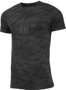 Czarny t-shirt 4F