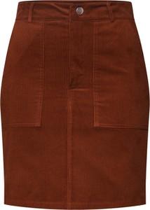 Brązowa spódnica New Look w stylu casual mini