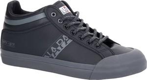 Napapijri Skórzane sneakersy TRICK