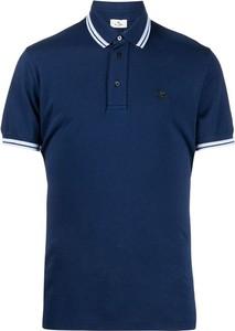 Niebieska koszulka polo Etro w stylu casual