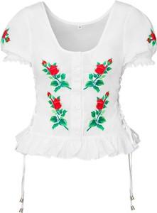 Bluzka JK Collection z krótkim rękawem