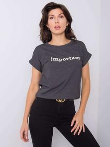 T-shirt Promese z krótkim rękawem z bawełny