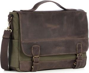 Brązowa torba VOOC z tkaniny