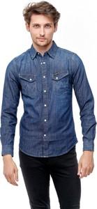 Koszula Wrangler z jeansu z klasycznym kołnierzykiem