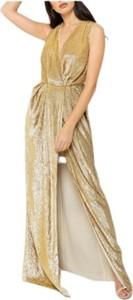 Sukienka Elisabetta Franchi z dekoltem w kształcie litery v