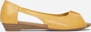 Żółte baleriny Multu