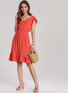 Pomarańczowa sukienka Renee