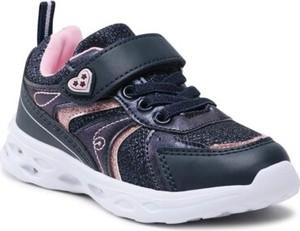 Granatowe buty sportowe dziecięce Sprandi