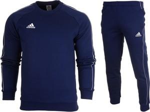 Dres kompletny adidas meski spodnie bluza core 18 cv3959 / cv3753