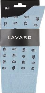 Niebieskie skarpety Lavard