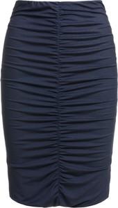 Niebieska spódnica RISK made in warsaw