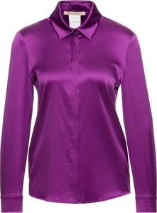 Fioletowa koszula Pennyblack z kołnierzykiem
