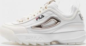 Buty sportowe Fila sznurowane disruptor na platformie