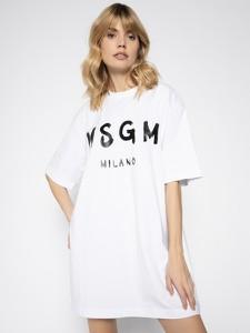 Sukienka MSGM mini z okrągłym dekoltem