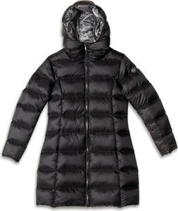 Czarny płaszcz Cold