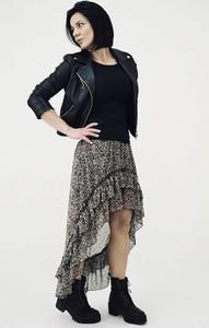 Spódnica Miley.pl z tkaniny midi
