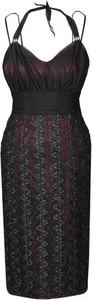 Sukienka Fokus midi dopasowana