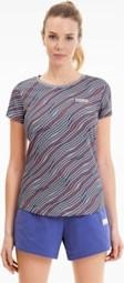 T-shirt Puma z okrągłym dekoltem z krótkim rękawem