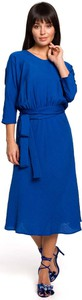 Niebieska sukienka MOE