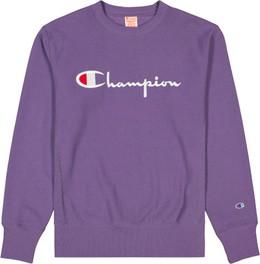 Fioletowa bluza Champion