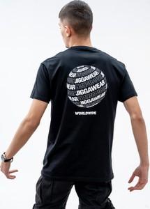 Czarny t-shirt Jigga Wear z bawełny