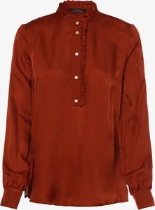 Pomarańczowa bluzka Set z długim rękawem