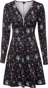 Sukienka bonprix mini z dżerseju