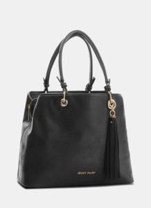 Brązowa torebka DeeZee w stylu glamour