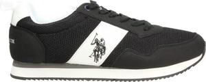 Czarne buty sportowe U.S. Polo