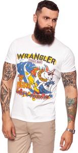 T-shirt Wrangler z krótkim rękawem w młodzieżowym stylu