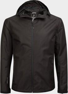 Czarna kurtka Outhorn krótka w stylu casual