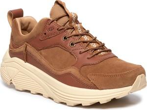 Brązowe buty sportowe UGG Australia sznurowane