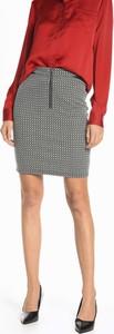 Spódnica Gate w stylu casual mini z bawełny