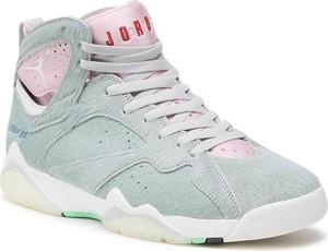 Miętowe buty sportowe Nike ze skóry ekologicznej