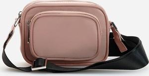 Różowa torebka Reserved na ramię