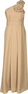 Sukienka Fokus z szyfonu asymetryczna