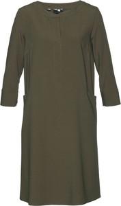 Sukienka bonprix bpc selection mini z okrągłym dekoltem