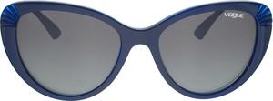 Granatowe okulary damskie Vogue