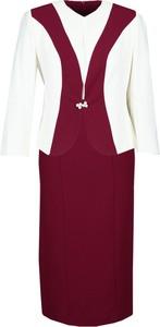 Kostium damski Fokus z bawełny