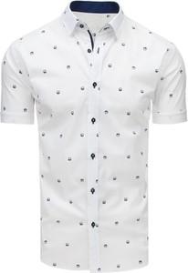 Koszula Dstreet w stylu casual z kołnierzykiem button down