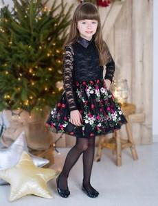 Sukienka dziewczęca Mała Mi w kwiatki
