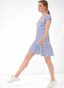 Sukienka ORSAY w stylu casual z bawełny z okrągłym dekoltem